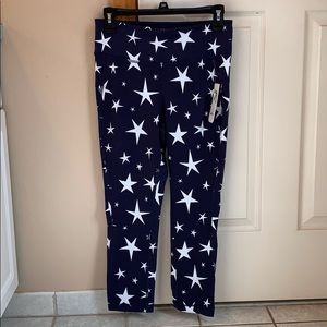 J. Crew x new balance star print crop leggings